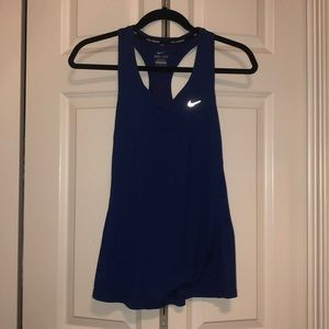 Dark blue Nike running tank top!